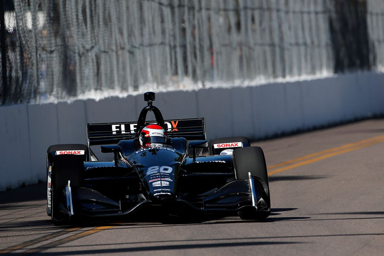 Ed Jones Indycar ST PETERSBURG 2019 009