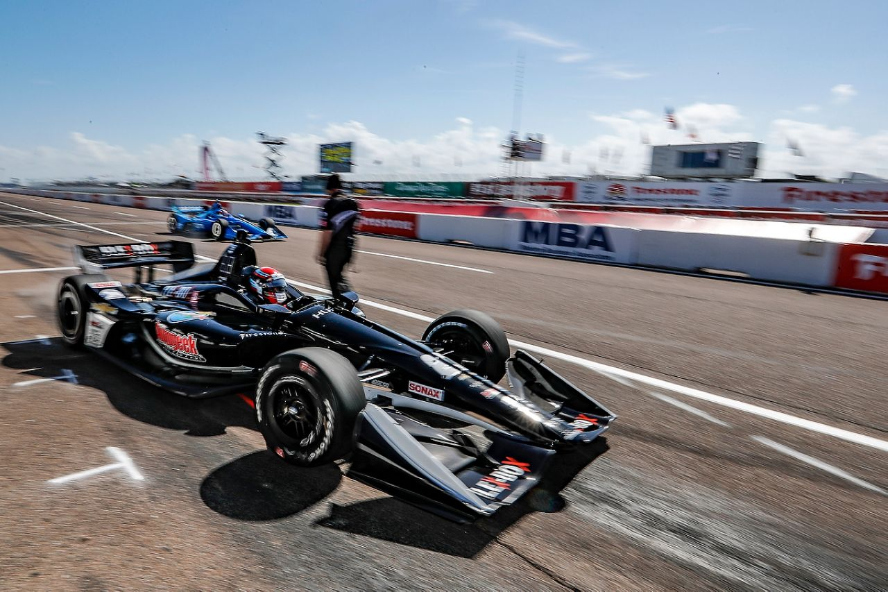 Ed Jones Indycar ST PETERSBURG 2019 012