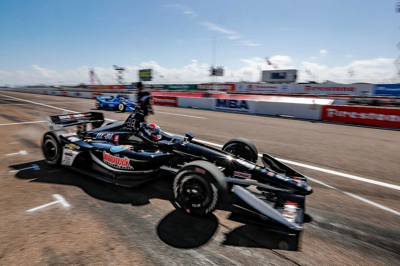 Ed Jones Indycar ST PETERSBURG 2019 013