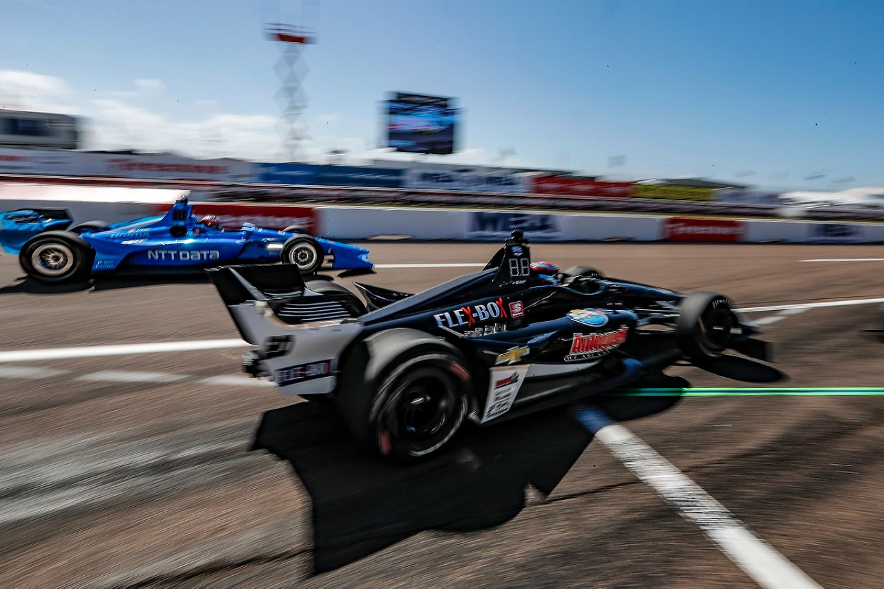 Ed Jones Indycar ST PETERSBURG 2019 016
