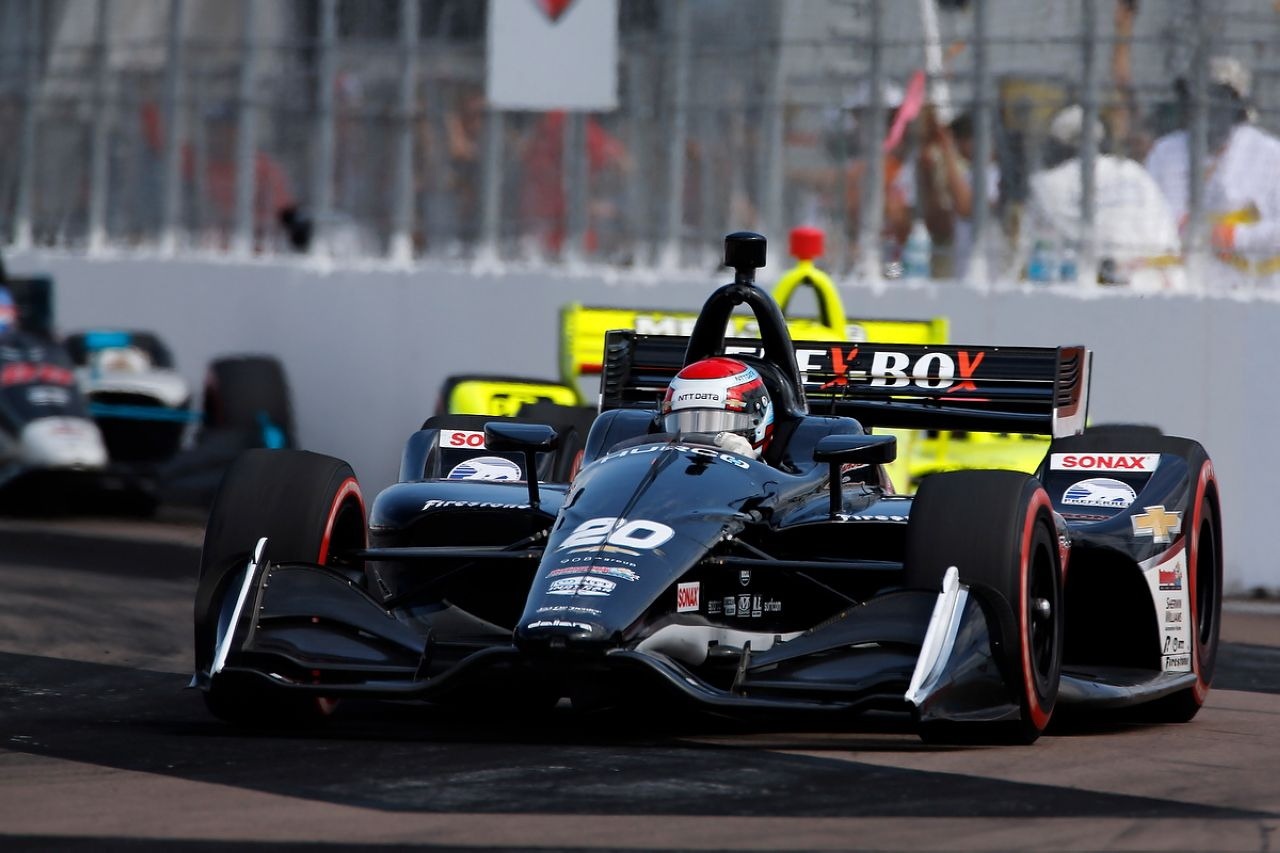 Ed Jones Indycar ST PETERSBURG 2019 021