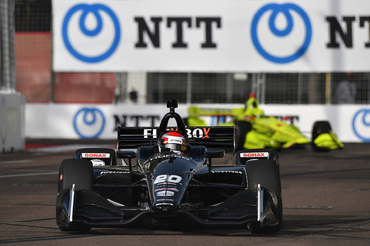 Ed Jones Indycar ST PETERSBURG 2019 024