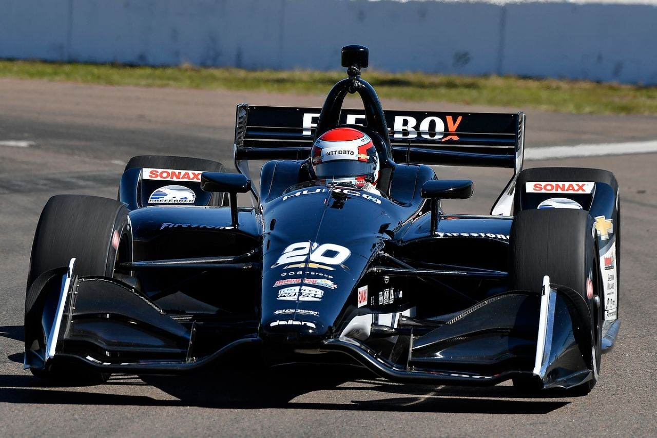 Ed Jones Indycar ST PETERSBURG 2019 034