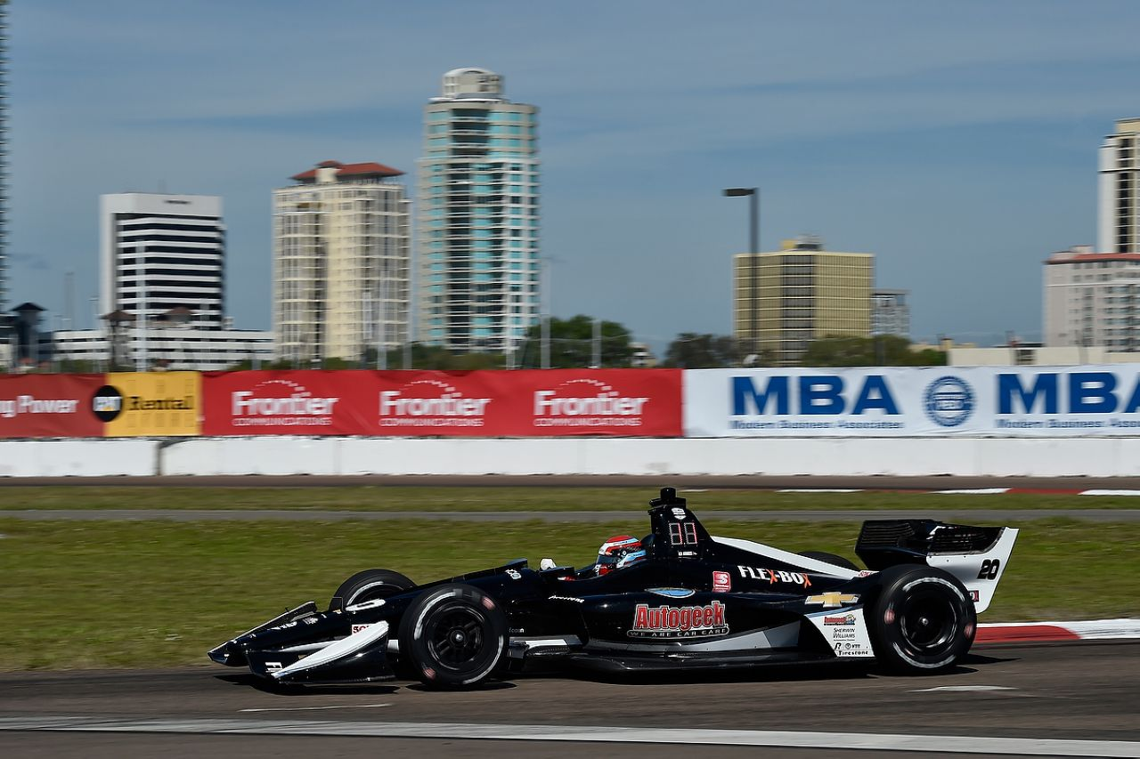 Ed Jones Indycar ST PETERSBURG 2019 035