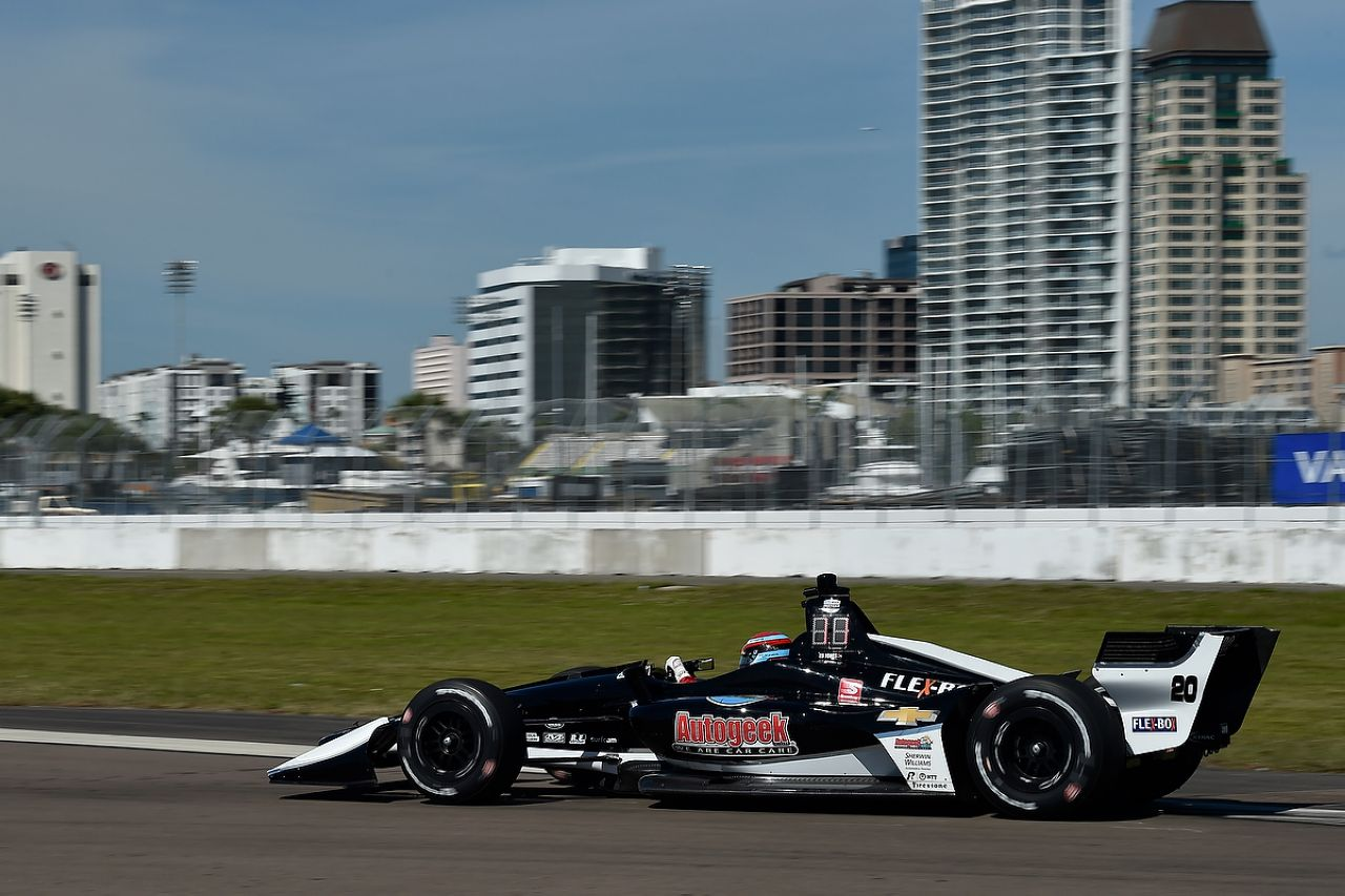 Ed Jones Indycar ST PETERSBURG 2019 036