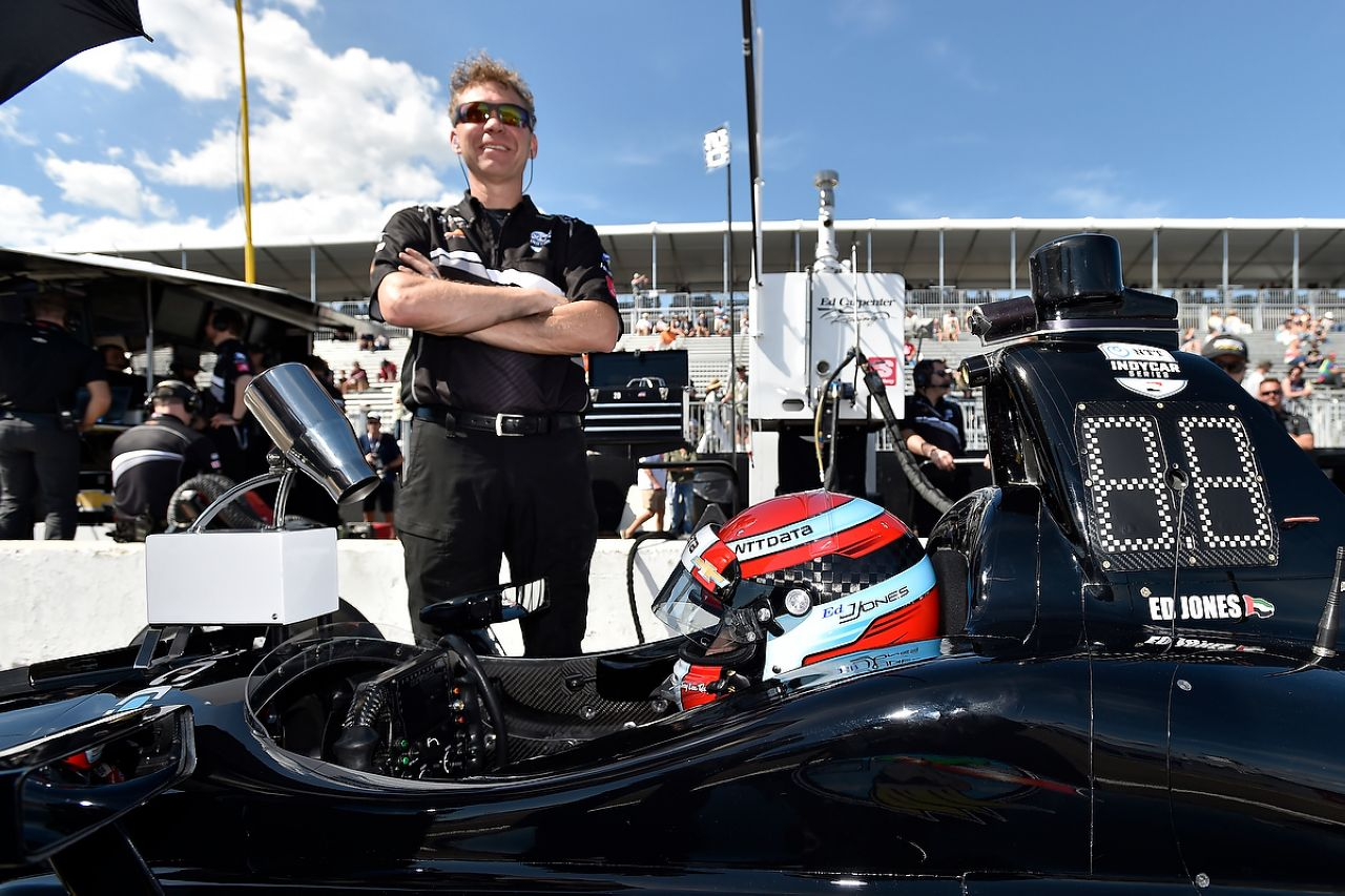 Ed Jones Indycar ST PETERSBURG 2019 037