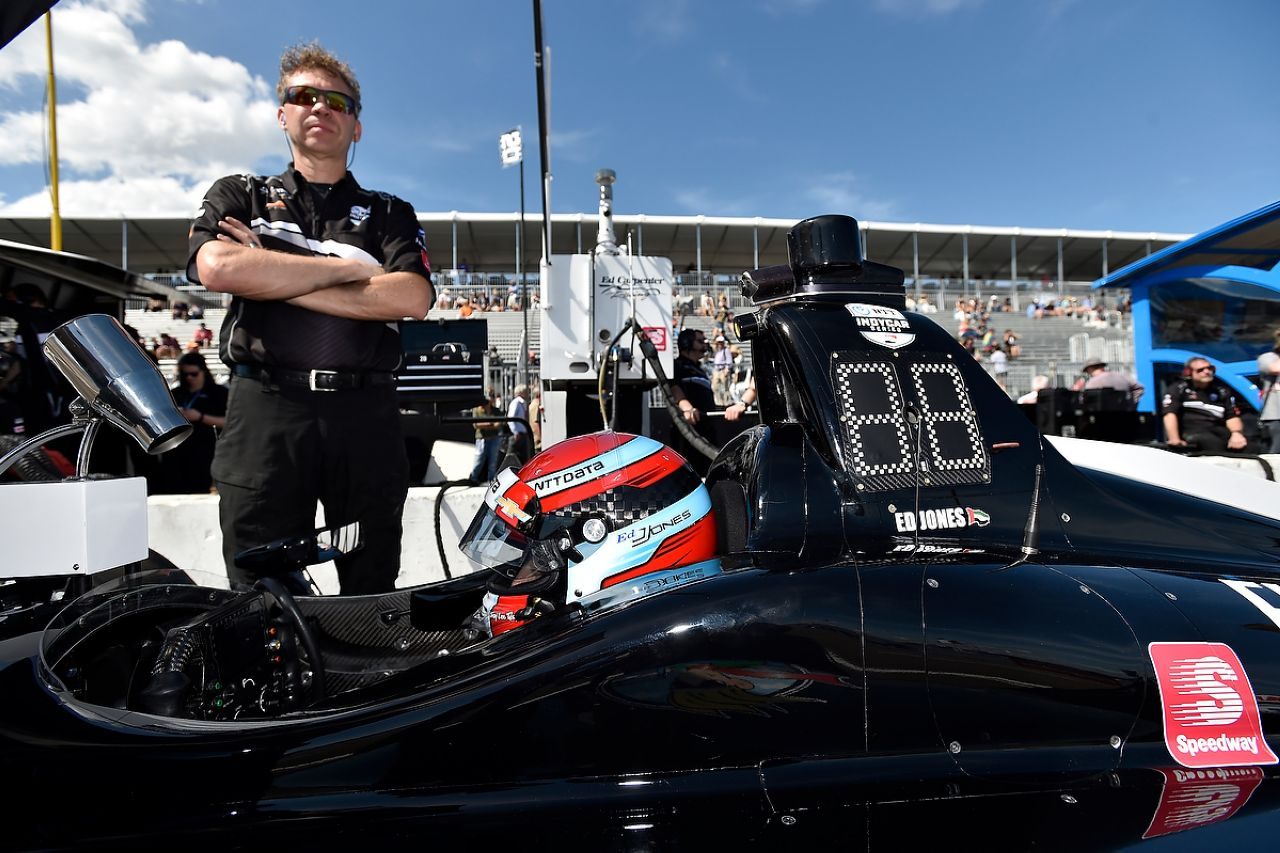 Ed Jones Indycar ST PETERSBURG 2019 039