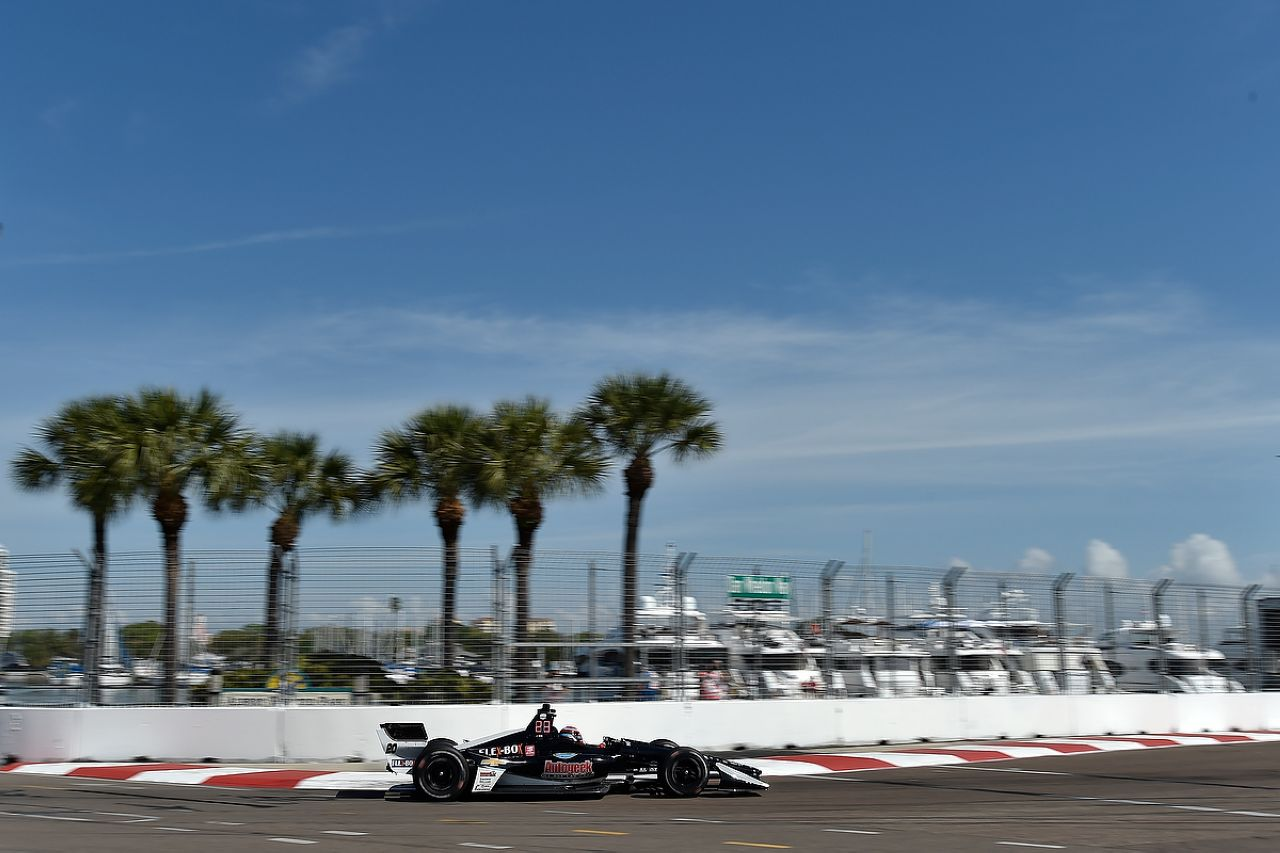 Ed Jones Indycar ST PETERSBURG 2019 043