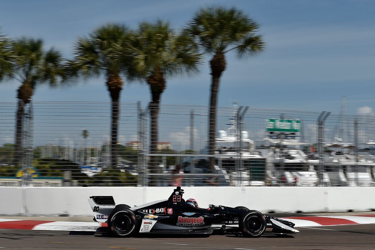 Ed Jones Indycar ST PETERSBURG 2019 045
