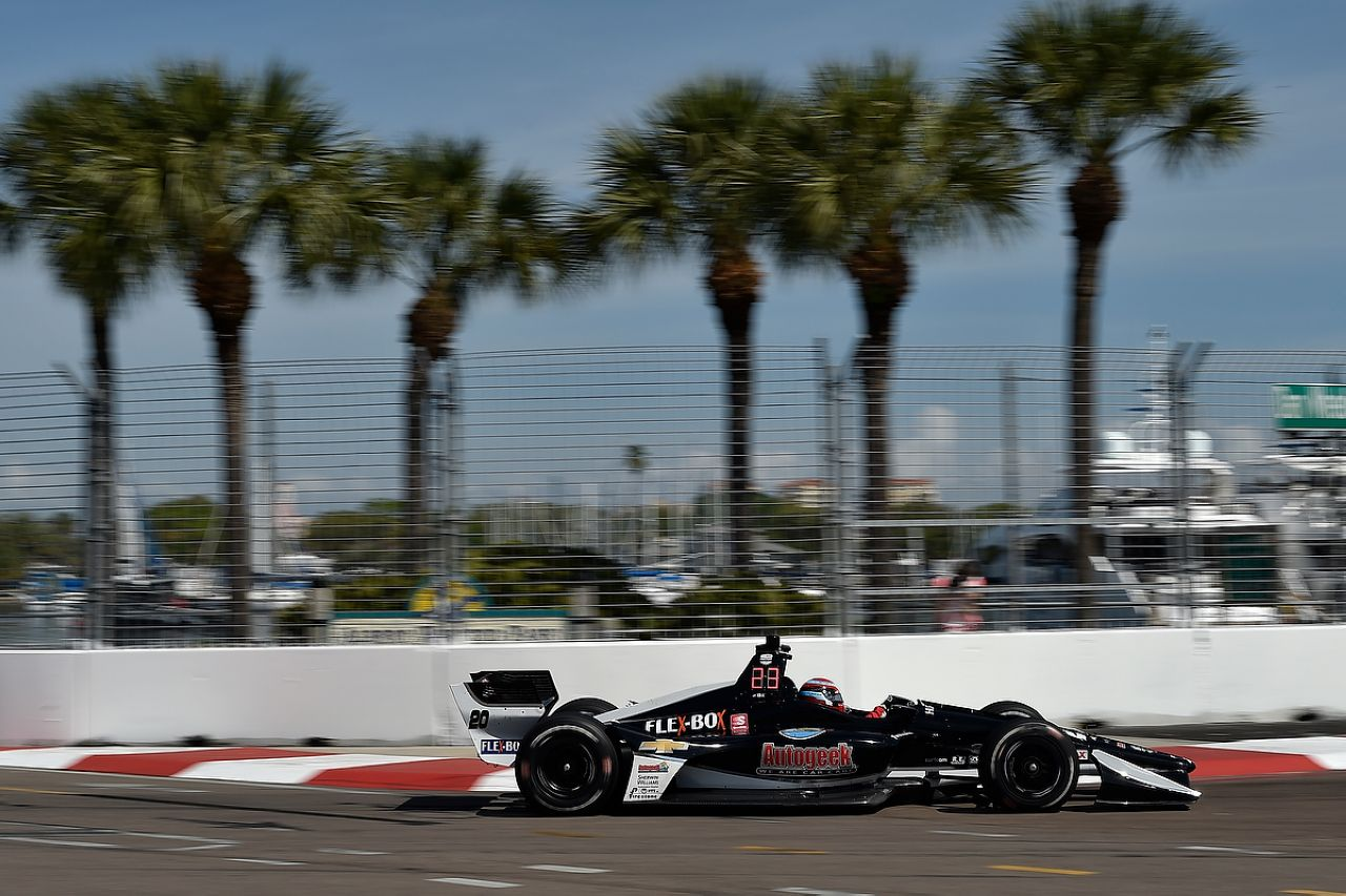 Ed Jones Indycar ST PETERSBURG 2019 046