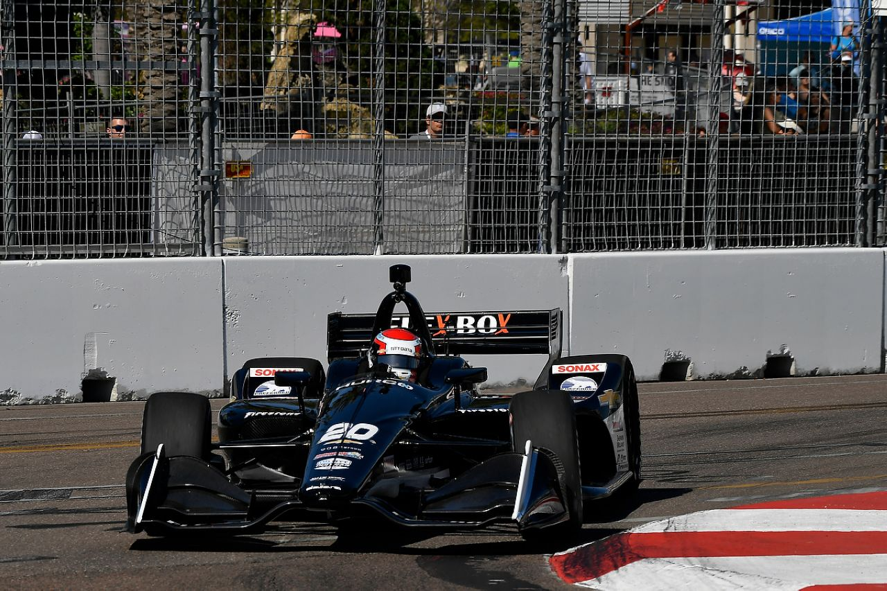 Ed Jones Indycar ST PETERSBURG 2019 047