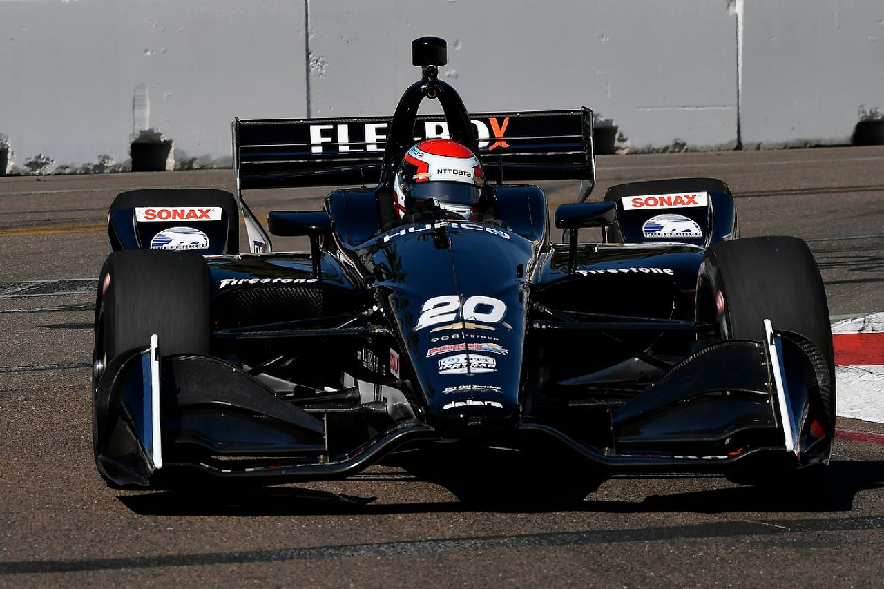 Ed Jones Indycar ST PETERSBURG 2019 048