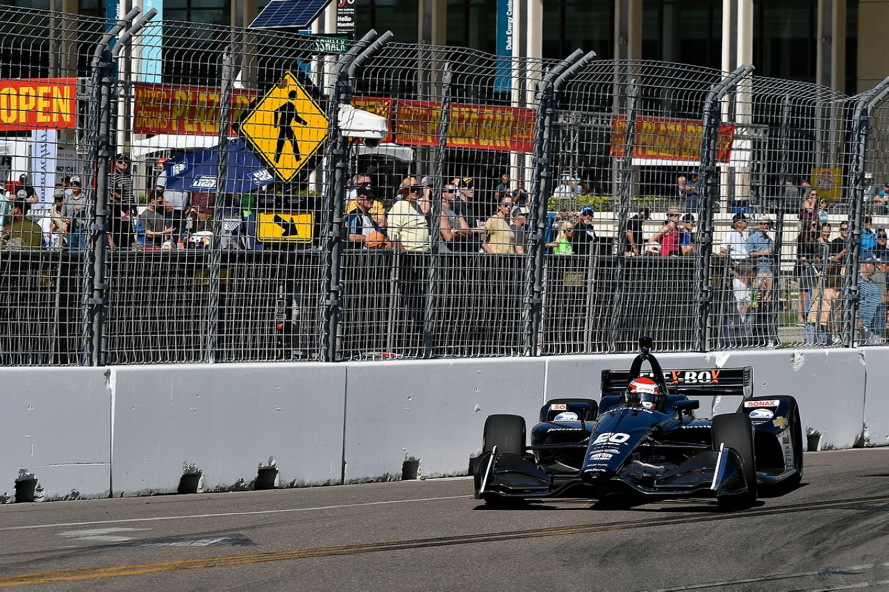 Ed Jones Indycar ST PETERSBURG 2019 051