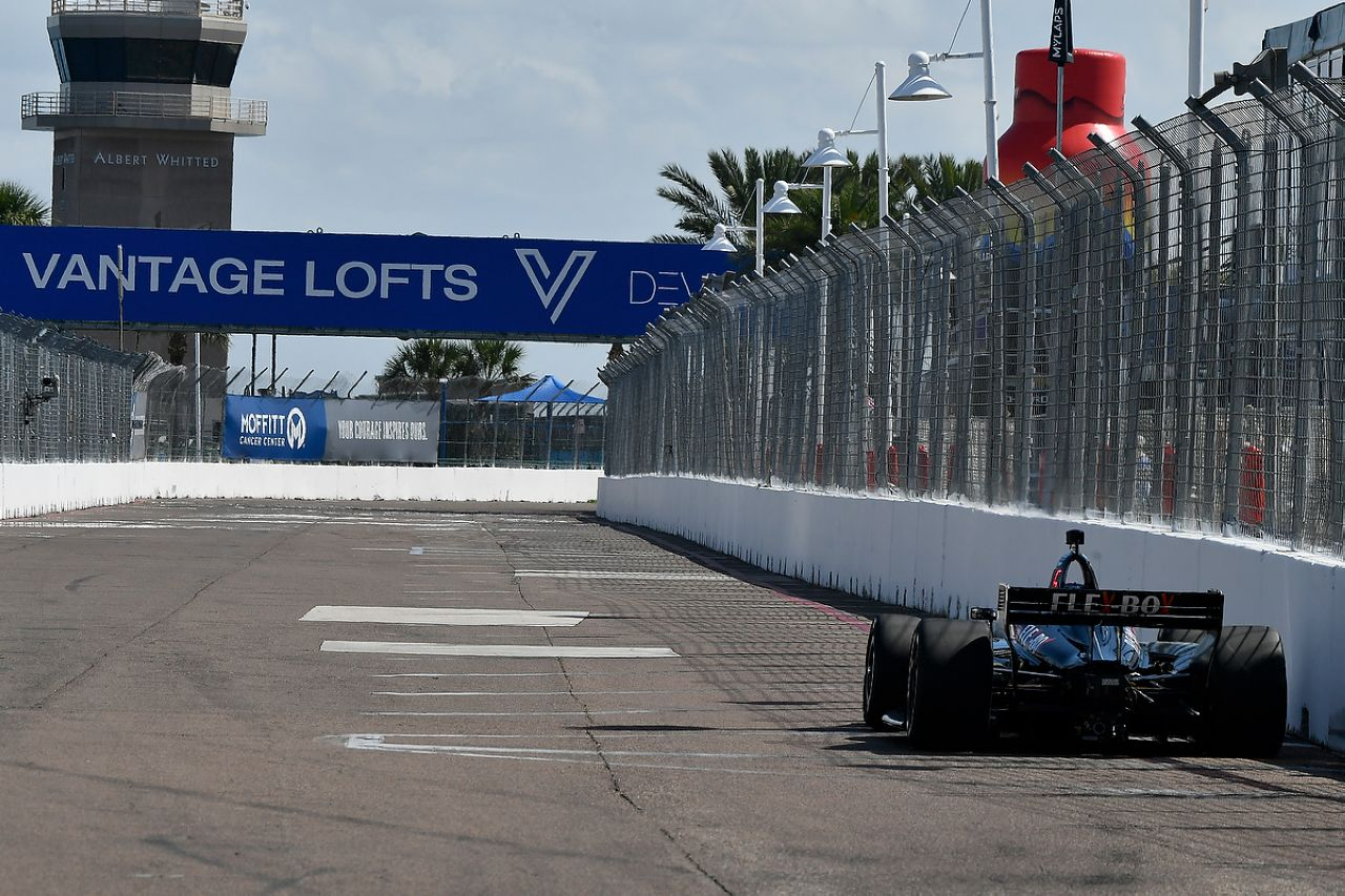 Ed Jones Indycar ST PETERSBURG 2019 052