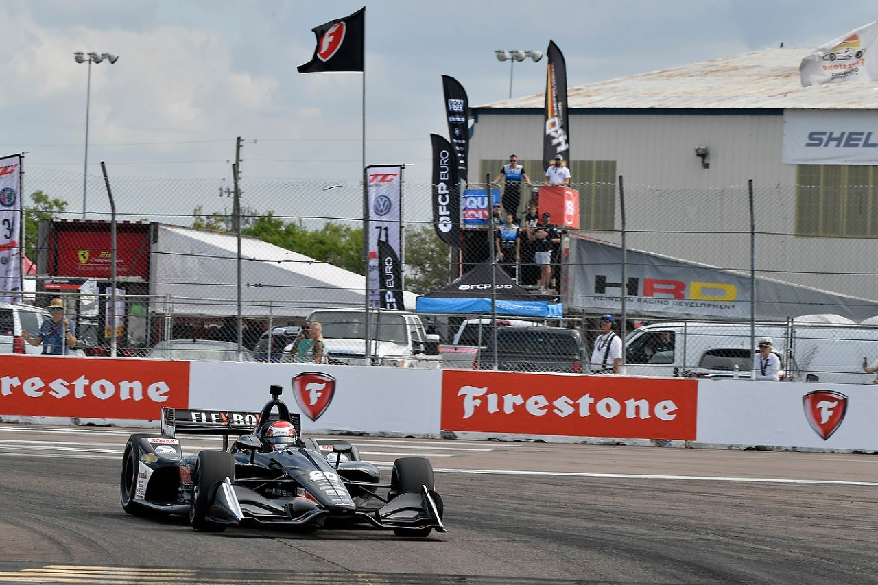 Ed Jones Indycar ST PETERSBURG 2019 053