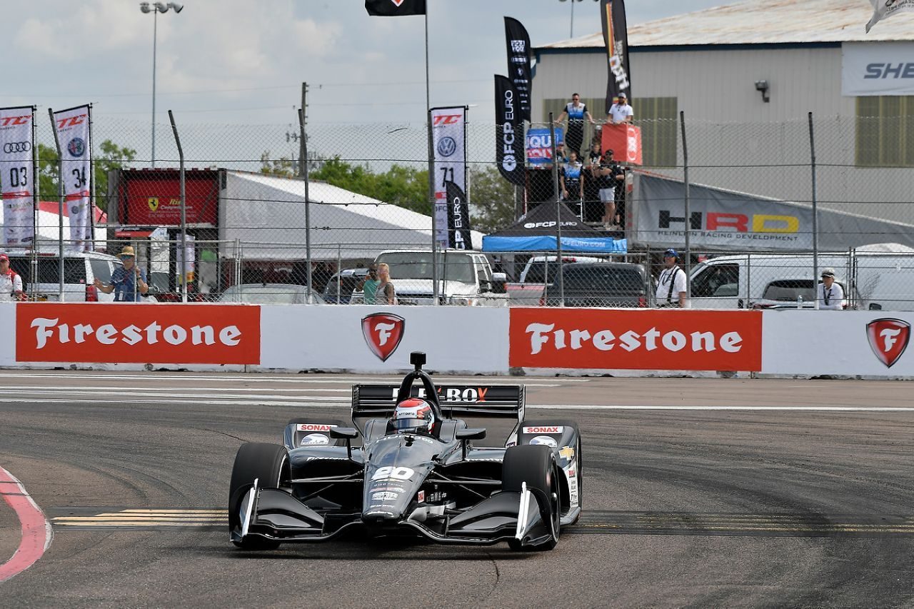 Ed Jones Indycar ST PETERSBURG 2019 054