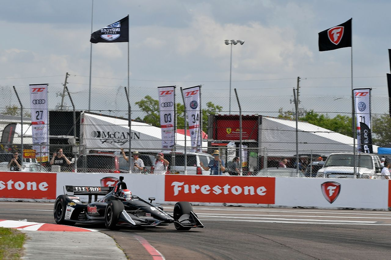 Ed Jones Indycar ST PETERSBURG 2019 055