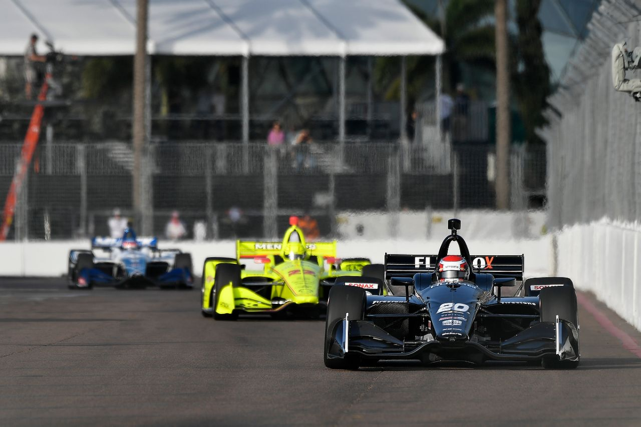 Ed Jones Indycar ST PETERSBURG 2019 057