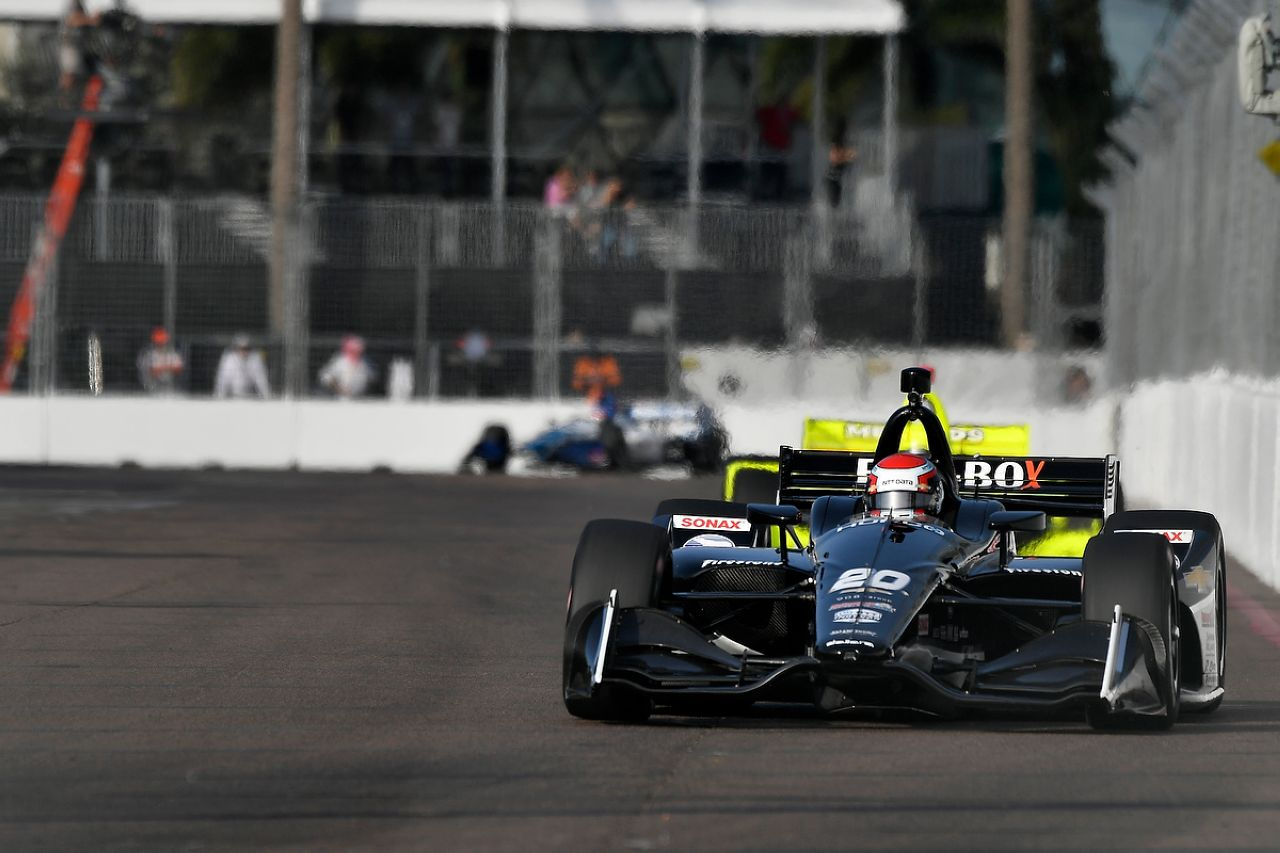 Ed Jones Indycar ST PETERSBURG 2019 058