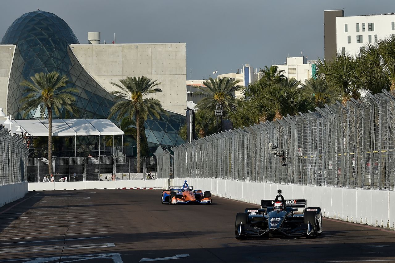 Ed Jones Indycar ST PETERSBURG 2019 059