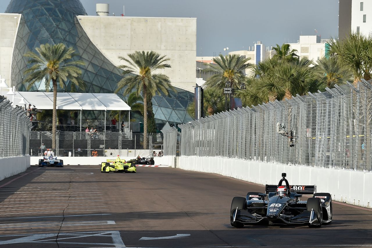 Ed Jones Indycar ST PETERSBURG 2019 060