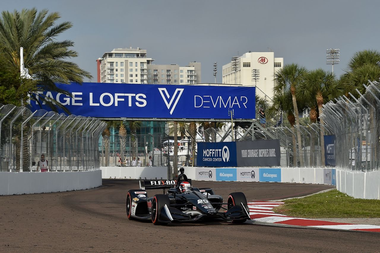 Ed Jones Indycar ST PETERSBURG 2019 061