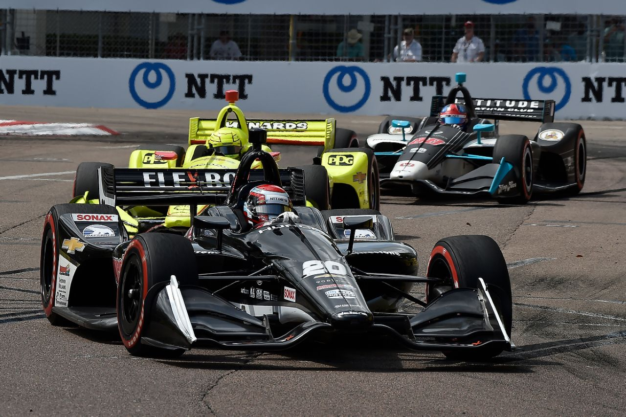 Ed Jones Indycar ST PETERSBURG 2019 063