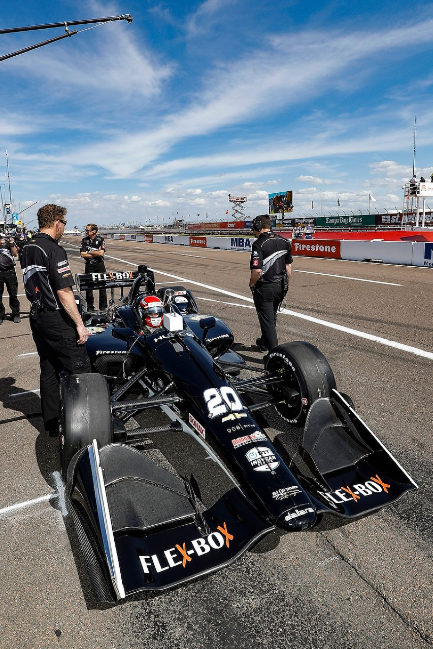Ed Jones Indycar ST PETERSBURG 2019 074