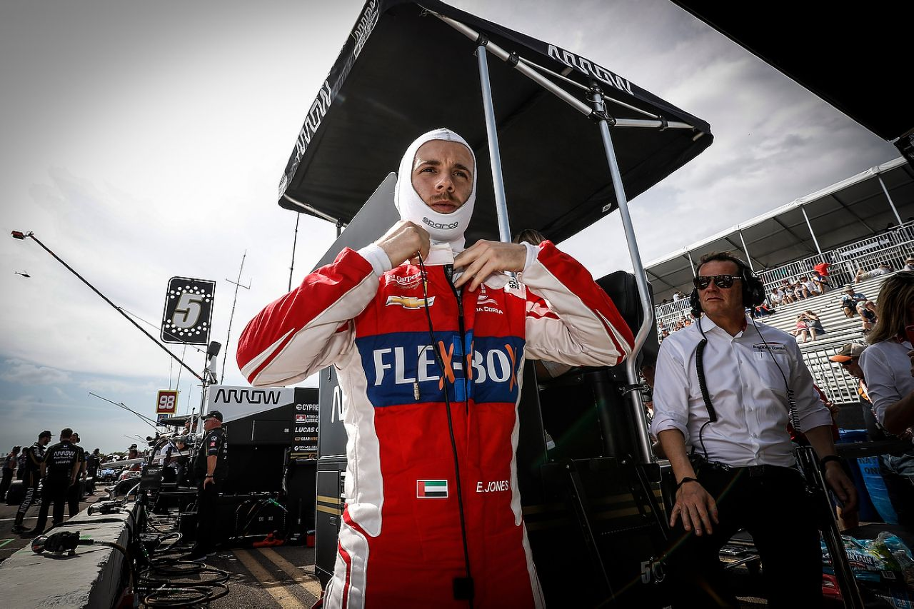 Ed Jones Indycar ST PETERSBURG 2019 108