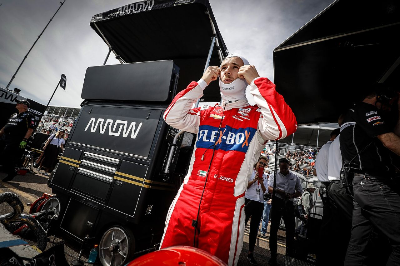 Ed Jones Indycar ST PETERSBURG 2019 109