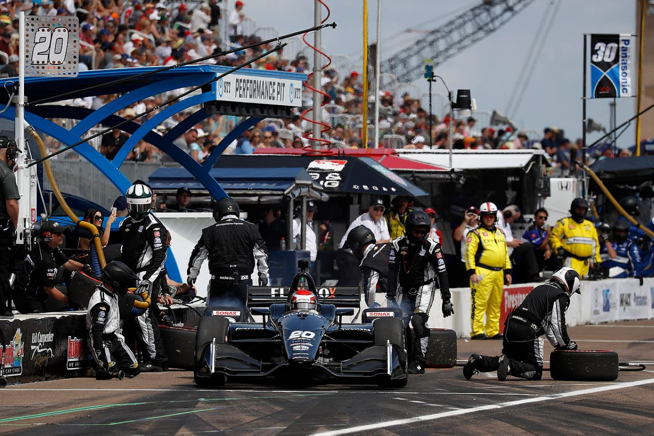 Ed Jones Indycar ST PETERSBURG 2019 134