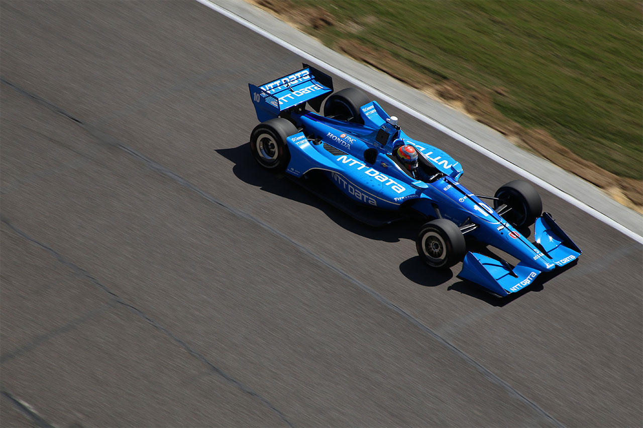 Ed Jones Chip Ganassi Racing Verizon IndyCar Series Barber Motorsports Park 3