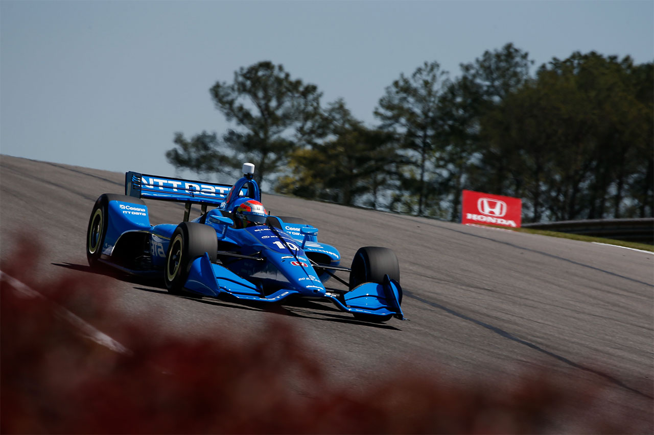 Ed Jones Chip Ganassi Racing Verizon IndyCar Series Barber Motorsports Park 5