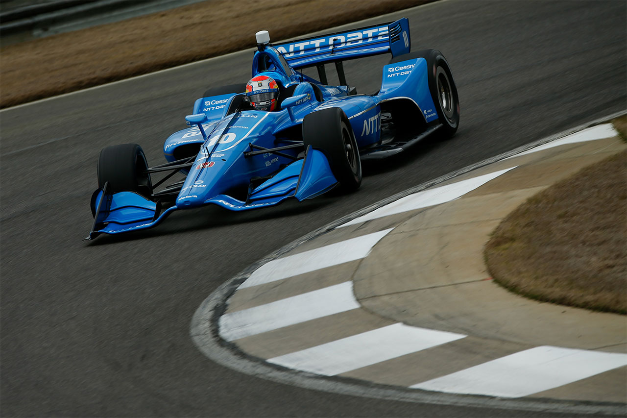 Ed Jones Chip Ganassi Racing Verizon IndyCar Series Barber Motorsports Park 6