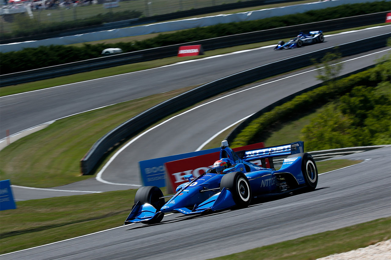Ed Jones Chip Ganassi Racing Verizon IndyCar Series Barber Motorsports Park 7