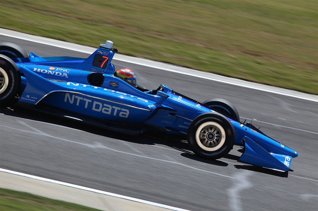 Ed Jones Chip Ganassi Racing Verizon IndyCar Series Barber Motorsports Park 8