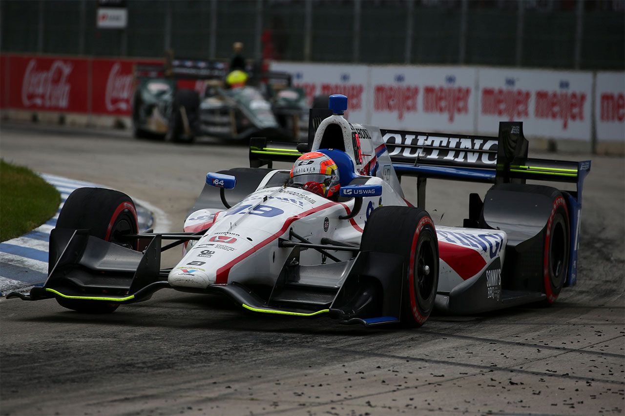 Ed Jones Indycar Detroit 2017 4