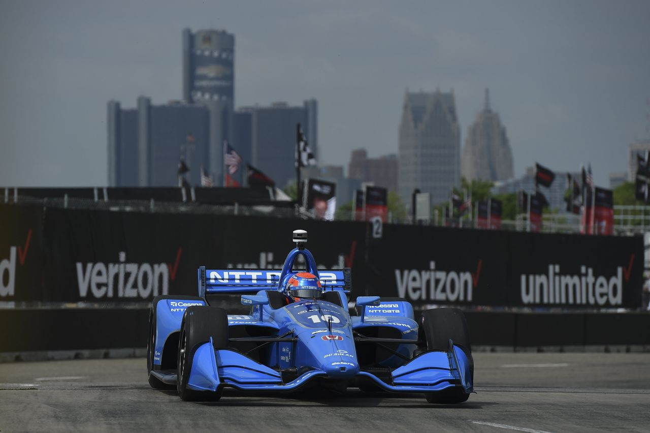 Ed Jones Chip Ganassi Racing Verizon IndyCar Series Detroit 2018 002