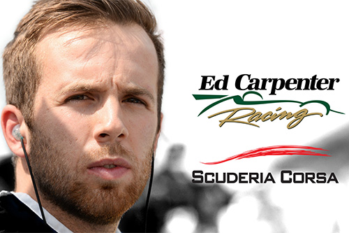 Ed Jones, Scuderia Corsa Join Ed Carpenter Racing For 2019 Indycar Series Season