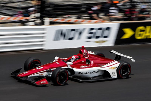 Jones takes 13th place in 103rd Running of the Indianapolis 500