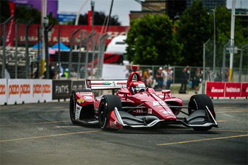 Ed Jones starts Indy Toronto in Row Three after Valiant Qualifying