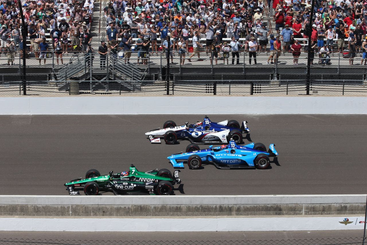 Ed Jones Chip Ganassi Racing Verizon IndyCar Series Indy 500 2018 003