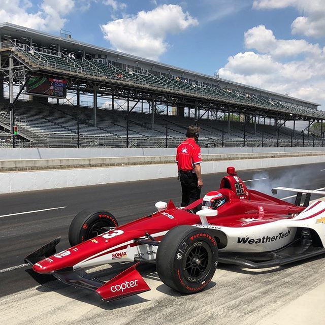 Ed Jones 2019 Indy 500 016