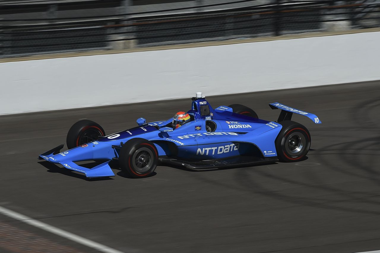 Ed Jones Chip Ganassi Racing Verizon IndyCar Series Indy 500 Qualifying 2018 005