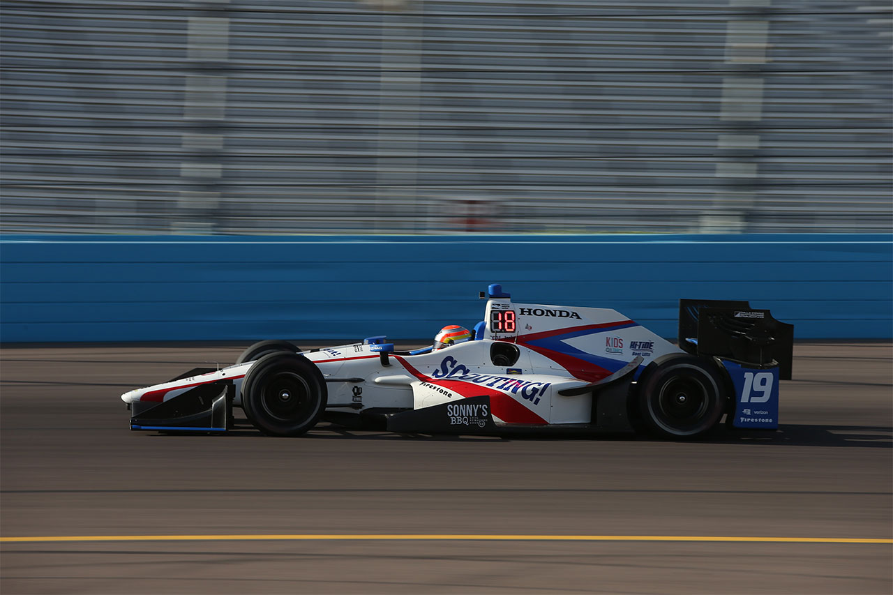 Ed Jones IndyCar Grand Prix Phoenix 1