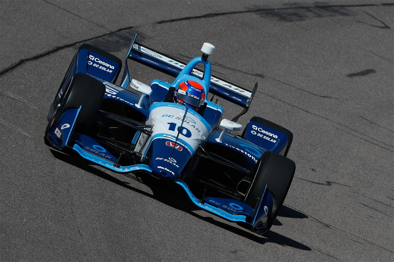 Ed Jones Indy Car Iowa Corn 300 2018