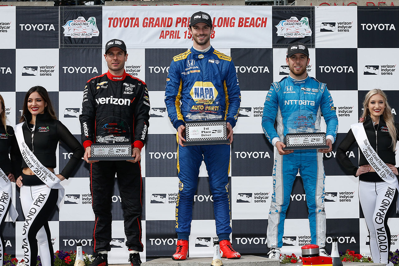 Ed Jones Chip Ganassi Racing Verizon IndyCar Series Grand Prix Of Long Beach 4