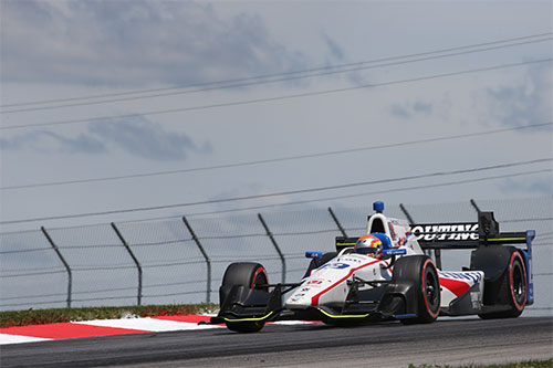 Out-of-luck Jones endures 'weekend to forget' at Mid-Ohio