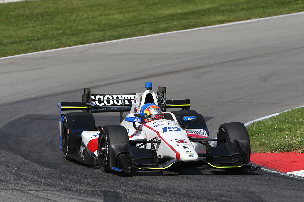 Ed Jones Verizon IndyCar Series At Mid Ohio 1