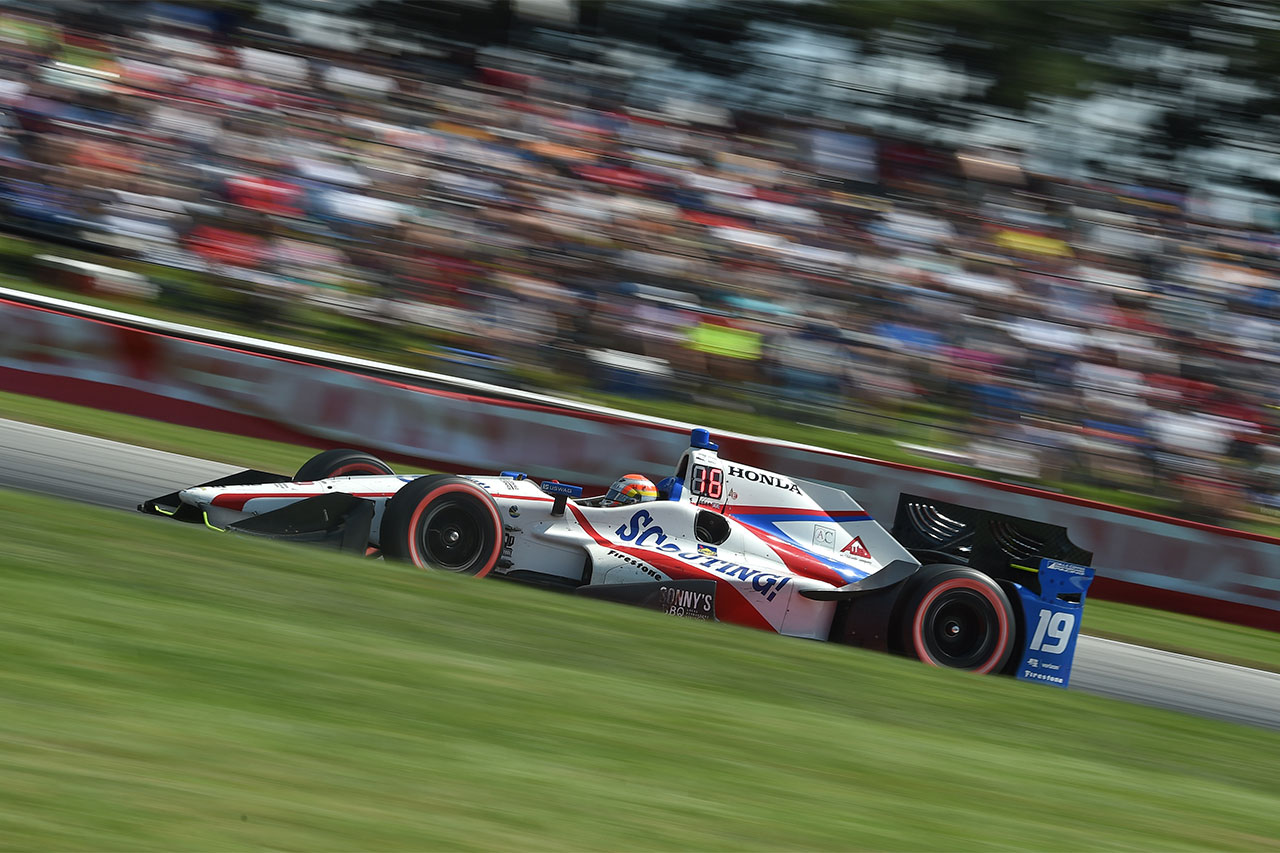Ed Jones Verizon IndyCar Series At Mid Ohio 3